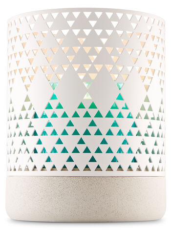 Pierced Triangle Luminary 3-Wick Candle Holder - Bath And Body Works