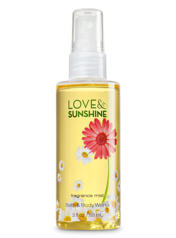 Signature Collection Love & Sunshine Travel Size Fine Fragrance Mist - Bath And Body Works