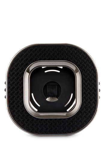 Textured Black Vent Clip Scentportable Holder