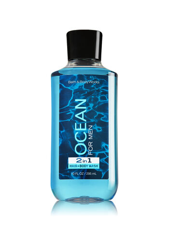 Signature Collection Ocean For Men 2-in-1 Hair + Body Wash - Bath And Body Works