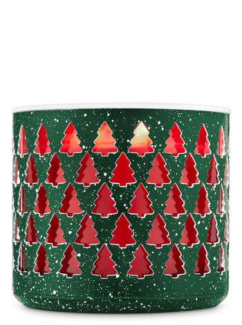 Speckled Tree 3-Wick Candle Holder - Bath And Body Works