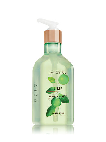 Lime Ginger Zest Purely Clean Hand Soap - Bath And Body Works