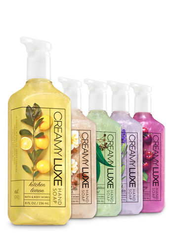 Classic Faves 5-Pack Creamy Luxe Hand Soap - Bath And Body Works