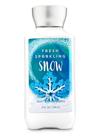 Signature Collection Fresh Sparkling Snow Body Lotion - Bath And Body Works