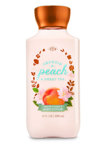 Signature Collection Georgia Peach Sweet Tea Body Lotion - Bath And Body Works