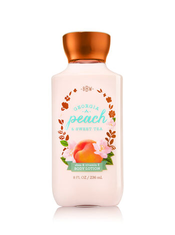 Signature Collection Georgia Peach & Sweet Tea Body Lotion - Bath And Body Works