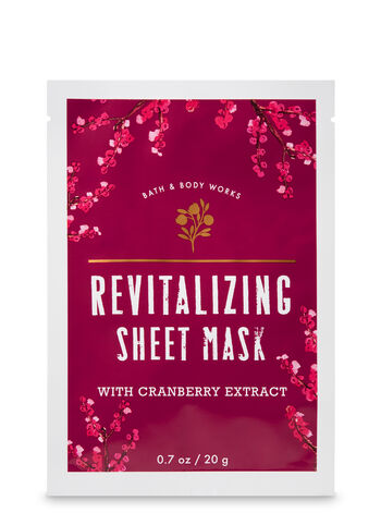 Revitalizing with Cranberry Extract Face Sheet Mask