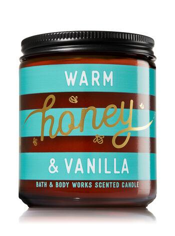 Warm Honey & Vanilla Medium Candle