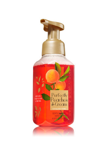 Perfectly Peaches & Cream Gentle Foaming Hand Soap - Bath And Body Works