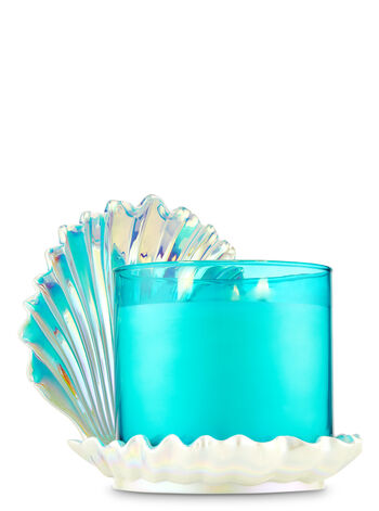 Iridescent Seashell 3-Wick Candle Holder - Bath And Body Works