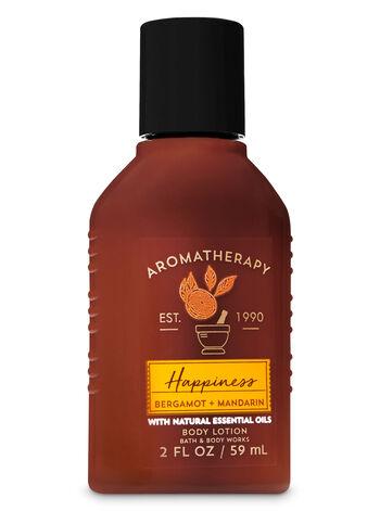 Aromatherapy Bergamot & Mandarin Travel Size Body Lotion - Bath And Body Works
