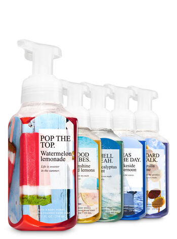 Because Summer 5-Pack Gentle Foaming Hand Soap - Bath And Body Works