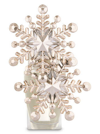 Rose Gold Snowflake Duo Wallflowers Fragrance Plug