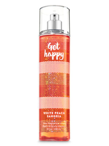 Signature Collection White Peach Sangria Fine Fragrance Mist - Bath And Body Works
