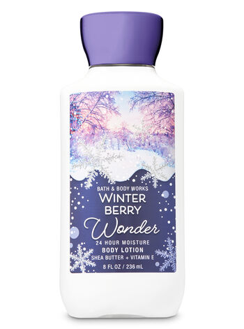 Signature Collection Winter Berry Wonder Super Smooth Body Lotion - Bath And Body Works