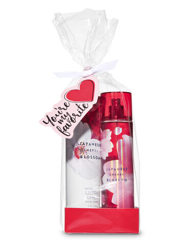 Japanese Cherry Blossom You're My Favorite Gift Set