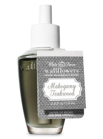 Mahogany Teakwood Wallflowers Fragrance Refill - Bath And Body Works