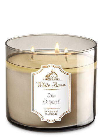 White Barn The Original 3-Wick Candle - Bath And Body Works