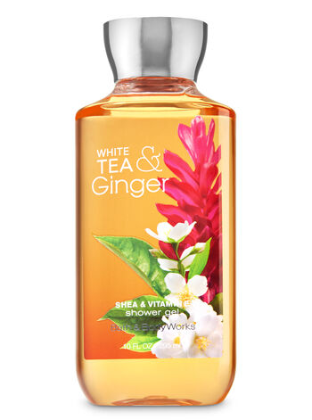 Signature Collection White Tea & Ginger Shower Gel - Bath And Body Works