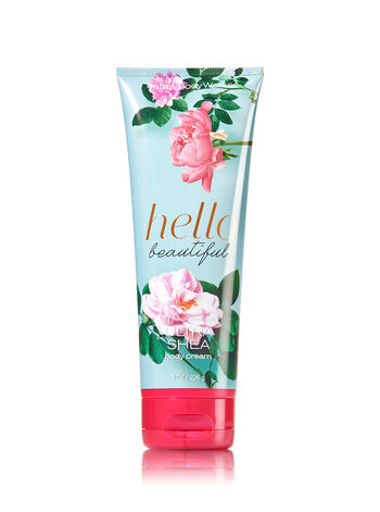 Signature Collection Hello Beautiful Ultra Shea Body Cream - Bath And Body Works