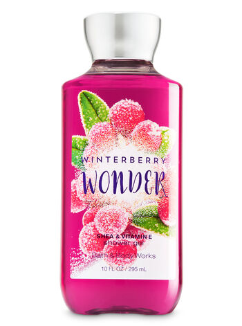 Signature Collection Winterberry Wonder Shower Gel - Bath And Body Works