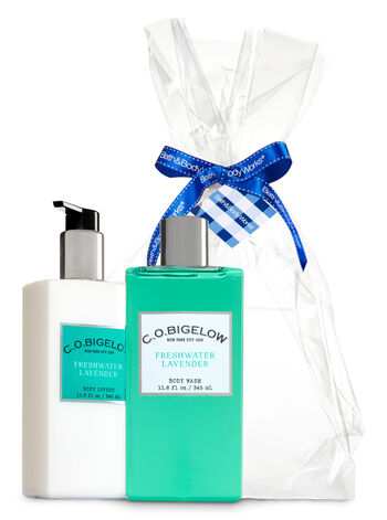 Freshwater Lavender C.O. Bigelow Essentials Gift Kit - Bath And Body Works