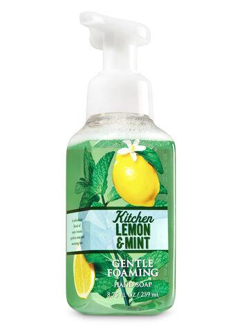 Kitchen Lemon & Mint Gentle Foaming Hand Soap - Bath And Body Works