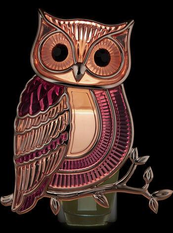 Pink Owl Nightlight Wallflowers Fragrance Plug