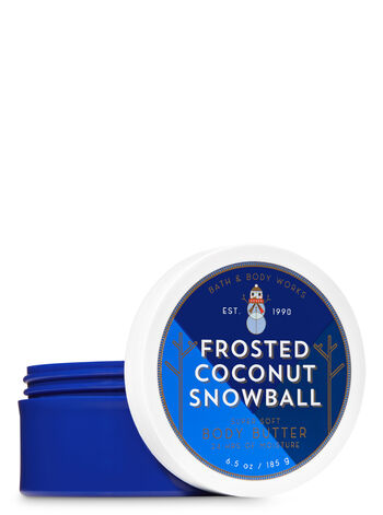 Signature Collection Frosted Coconut Snowball Body Butter - Bath And Body Works