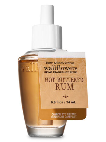 Hot Buttered Rum Wallflowers Fragrance Refill - Bath And Body Works