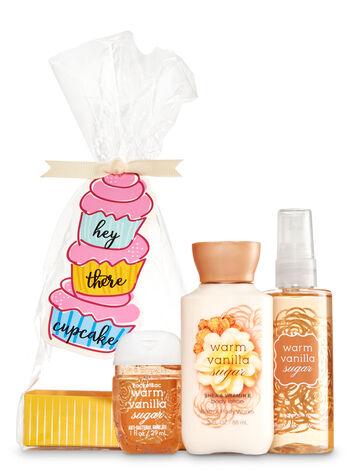 Warm Vanilla Sugar Hey There Cupcake Gift Set