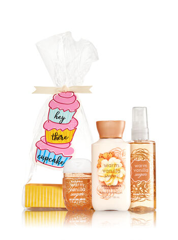 Warm Vanilla Sugar Hey There Cupcake Gift Set
