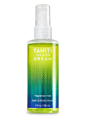 Signature Collection Tahiti Island Dream Travel Size Fine Fragrance Mist - Bath And Body Works