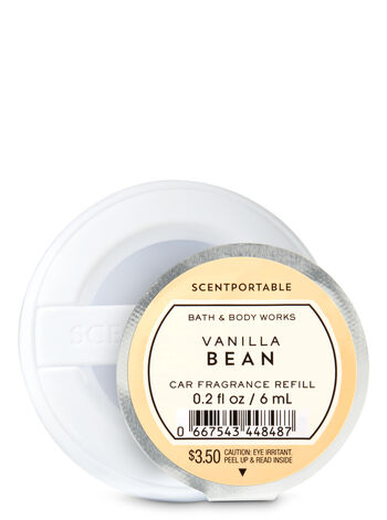 Vanilla Bean Scentportable Fragrance Refill - Bath And Body Works
