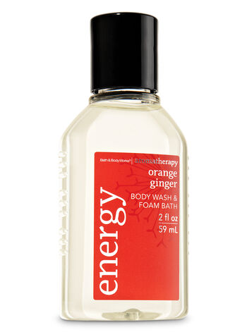 Aromatherapy Orange Ginger Travel Size Body Wash & Foam Bath - Bath And Body Works