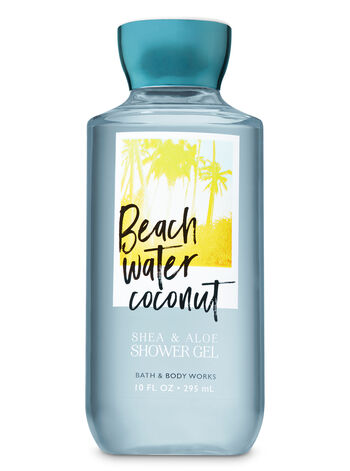 Signature Collection Beach Water Coconut Shower Gel - Bath And Body Works
