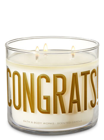 Champagne Toast 3-Wick Candle - Bath And Body Works