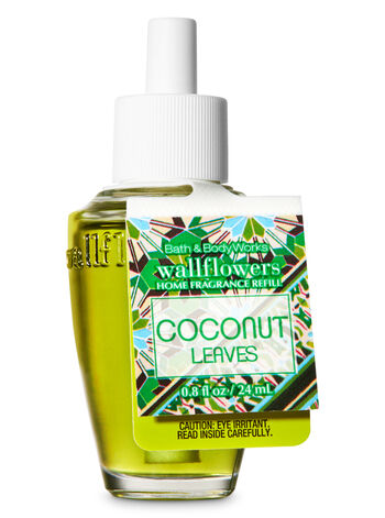 Coconut Leaves Wallflowers Fragrance Refill - Bath And Body Works