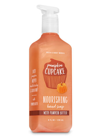 Pumpkin Cupcake Hand Soap with Pumpkin Butter - Bath And Body Works