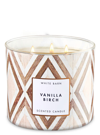Vanilla Birch 3-Wick Candle - Bath And Body Works
