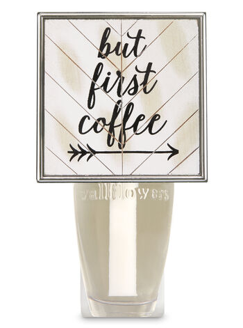 But First Coffee Wallflowers Fragrance Plug
