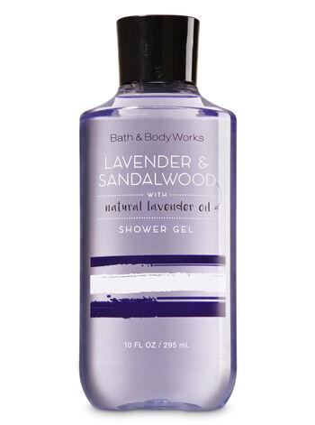 Signature Collection Lavender & Sandalwood Shower Gel - Bath And Body Works