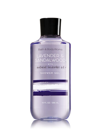 Signature Collection Lavender & Sandalwood Shower Gel - Bath And Body Works