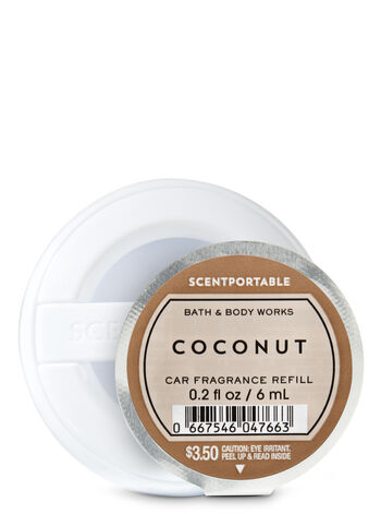 Coconut Scentportable Fragrance Refill - Bath And Body Works