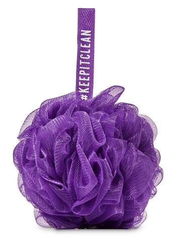 Purple Mesh Sponge - Bath And Body Works