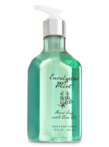Eucalyptus Mint Hand Soap with Olive Oil - Bath And Body Works