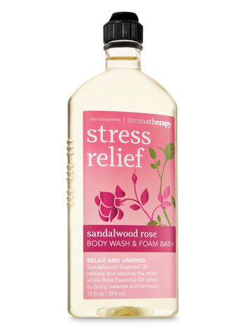 Aromatherapy Sandalwood Rose Body Wash & Foam Bath - Bath And Body Works