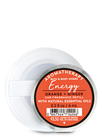 Energy - Orange & Ginger Scentportable Fragrance Refill - Bath And Body Works