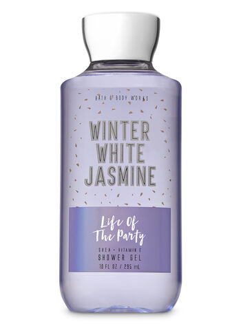 Winter White Jasmine Shower Gel - Bath And Body Works