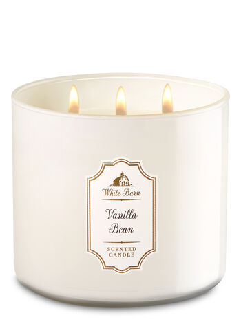 Vanilla Bean 3-Wick Candle - Bath And Body Works